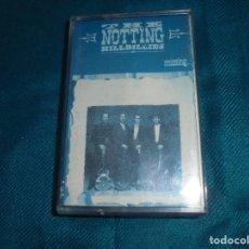 Casetes antiguos: THE NOTTING HILLBILLIES. MISSING. VERTIGO, 1990. SPAIN. CASETE. CARATULA DESPLEGABLE CON LETRAS. Lote 194378653
