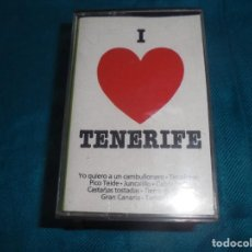 Casetes antiguos: I LOVE TENERIFE. PERFIL, 1988. SPAIN. CASETE. Lote 194387585