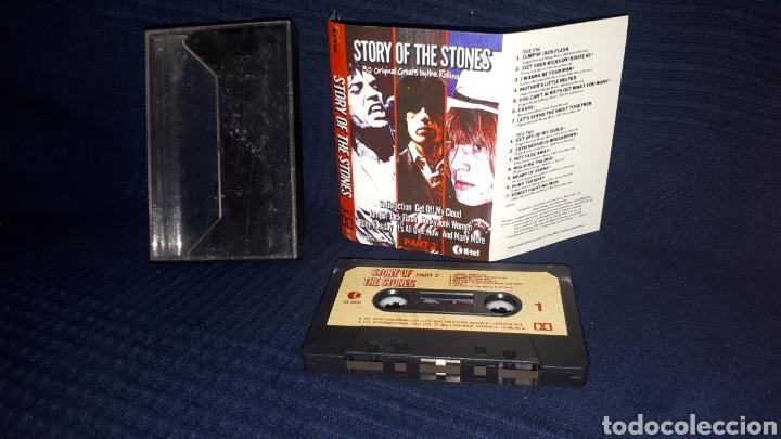 ÚNICO EN TODOCOLECCION CASETTE STORY OF THE STONES PART 2 1982 (Música - Casetes)