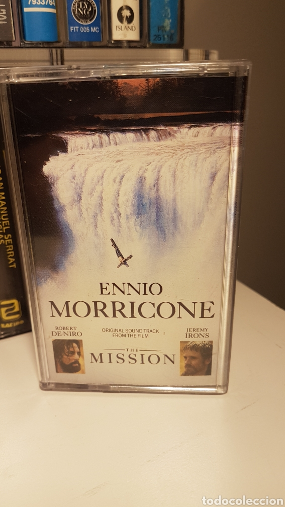 ENNIO MORRICONE..THE MISSION (ORIGINAL SOUNDTRACK FROM THE FILM) (Música - Casetes)