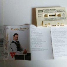 Casetes antiguos: FREDDIE MERCURY-CASSETTE THE ALBUM. Lote 194574238