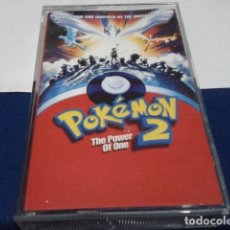 Casetes antiguos: CASETE CINTA CASSETTE ( POKEMON 2 - THE POWER OF ONE ) 2000 WARNER MADE IN GERMANY. Lote 194639782