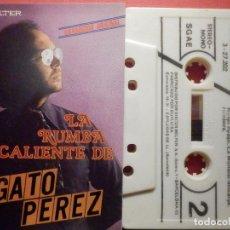 Casetes antiguos: CINTA DE CASSETTE - CASETE - LA RUMBA CALIENTE DE GATO PÉREZ - BELTER 1980. Lote 194646113
