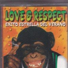 Casetes antiguos: LOVE & RESPECT,VARIOS DEL 97. Lote 194651105