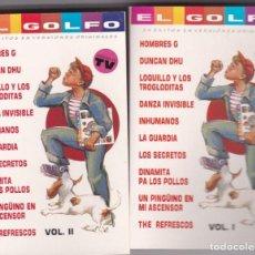 Casetes antiguos: EL GOLFO,VARIOS DOBLE CASSETE DEL 89. Lote 194651140