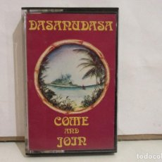 Casetes antiguos: DASANUDASA - COME AN JOIN - CASSETTE - 1983 - SPAIN - NM+/EX+. Lote 194658551