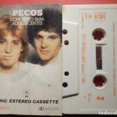 Casetes antiguos: CINTA DE CASSETTE - CASETE - PECOS - CONCIERTO PARA ADOLESCENTES - EPIC 1979. Lote 194691035