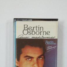 Cassette antiche: BERTÍN OSBORNE. AMOR MEDITERRÁNEO. CASETE. TDKV43. Lote 194716813