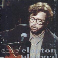 Casetes antiguos: ERIC CLAPTON - UNPLUGGED - DUCK RECORDS 9362-45024-4 - 1992 - EDICIÓN UK. Lote 194721276