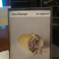 Casetes antiguos: CHICO BUARTE - EN ESPAÑOL CASETE CASSETTE . Lote 194734322