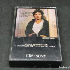 Casetes antiguos: CASETE - BRUCE SPRINGSTEEN - DARKNESS ON THE EDGE OF TOWN - 1978 - 1991. Lote 194742992