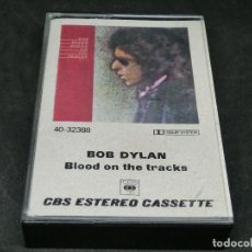 Casetes antiguos: CASETE - BOB DYLAN - BLOOD ON THE TRACKS - 1975 - 1983. Lote 194743120