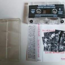 Casetes antiguos: ROLLING STONES-CASSETTE ELECTRIC. Lote 194758622