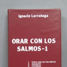 Casetes antiguos: ORAR CON LOS SALMOS. 1. IGNACIO LARRAÑAGA. Lote 194777568