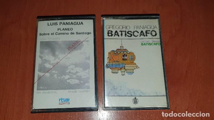 LUIS Y GREGORIO PANIAGUA, PLANEO Y BATISCAFO, 2 CASETES BIEN CONSERVADOS (Música - Casetes)