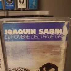 Casetes antiguos: JOAQUÍN SABINA..EL HOMBRE DEL TRAJE GRIS..1988. Lote 194893633