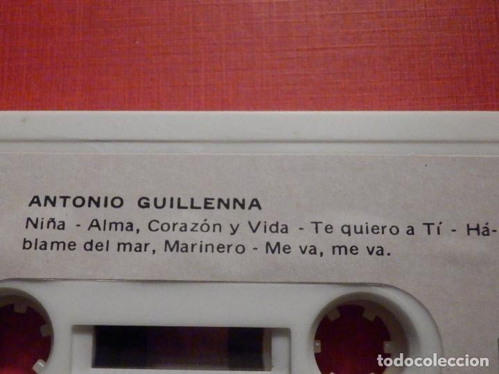 Casetes antiguos: Cinta de Cassette - Antonio Guillena - Guillenna -Voces Nuevas del Cante Flamenco - REDIM 1978 - Foto 2 - 194907281