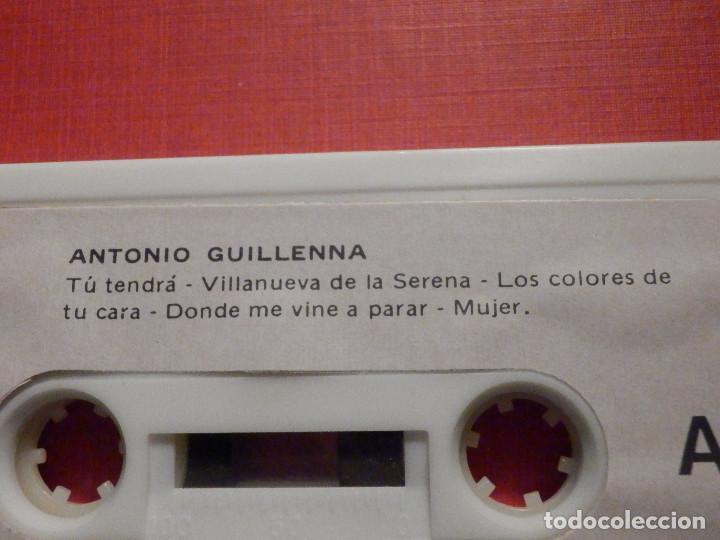 Casetes antiguos: Cinta de Cassette - Antonio Guillena - Guillenna -Voces Nuevas del Cante Flamenco - REDIM 1978 - Foto 3 - 194907281