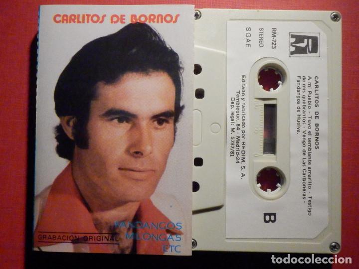 CINTA DE CASSETTE - CASETE - CARLITOS DE BORNOS - REDIM 1981 - SELLO RARO (Música - Casetes)