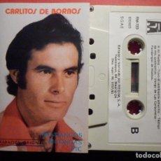 Casetes antiguos: CINTA DE CASSETTE - CASETE - CARLITOS DE BORNOS - REDIM 1981 - SELLO RARO. Lote 194907306