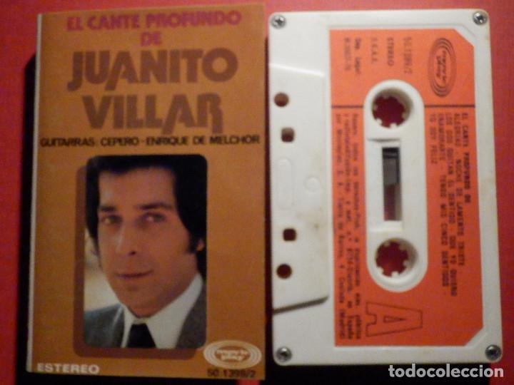 CINTA DE CASSETTE - CASETE - EL CANTE PROFUNDO DE JUANITO VILLAR - MOVIE PLAY 1975 (Música - Casetes)