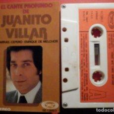 Casetes antiguos: CINTA DE CASSETTE - CASETE - EL CANTE PROFUNDO DE JUANITO VILLAR - MOVIE PLAY 1975. Lote 194907330
