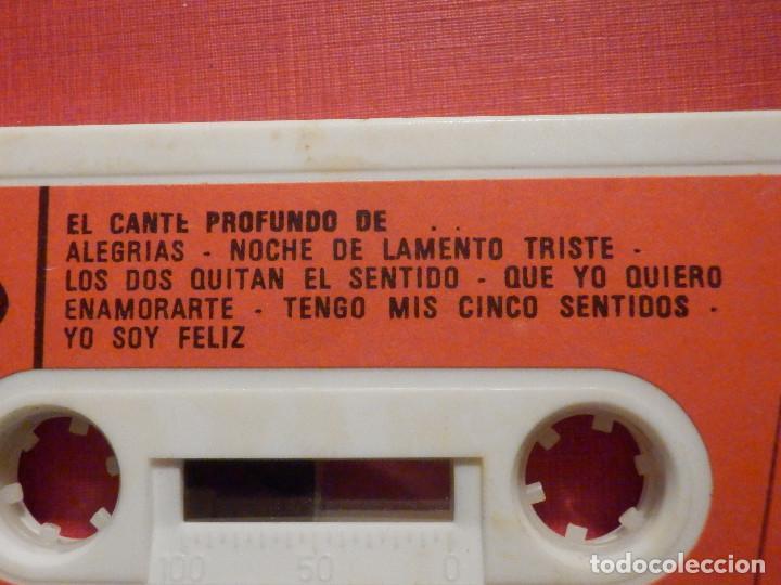 Casetes antiguos: Cinta de Cassette - Casete - El Cante Profundo de Juanito Villar - Movie Play 1975 - Foto 2 - 194907330
