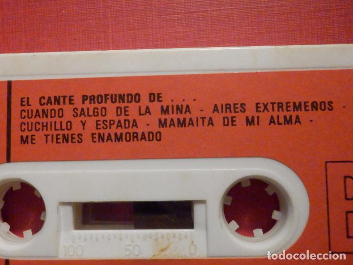 Casetes antiguos: Cinta de Cassette - Casete - El Cante Profundo de Juanito Villar - Movie Play 1975 - Foto 3 - 194907330