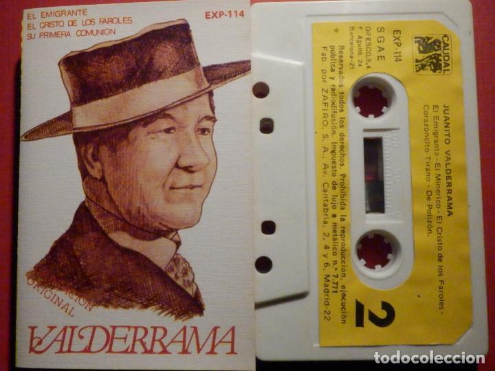 CINTA DE CASSETTE - CASETE - JUANITO VALDERRAMA - CAUDAL 1980 (Música - Casetes)