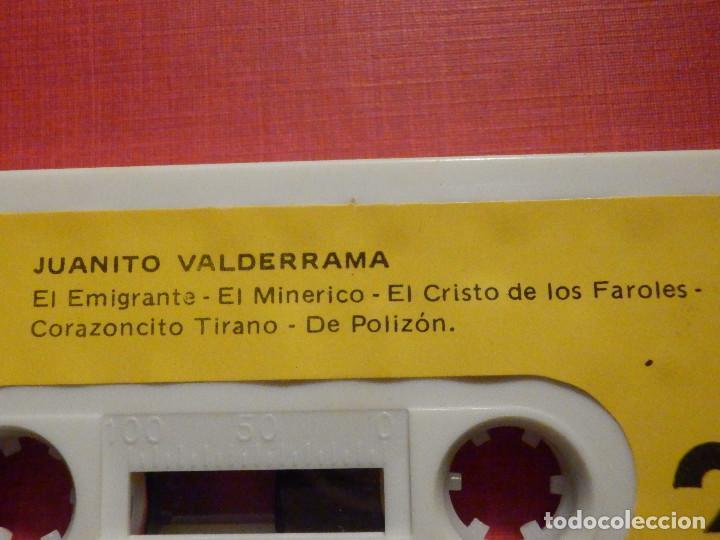 Casetes antiguos: Cinta de Cassette - Casete - Juanito Valderrama - Caudal 1980 - Foto 2 - 194907353