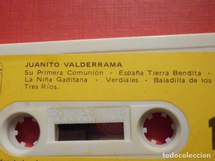 Casetes antiguos: Cinta de Cassette - Casete - Juanito Valderrama - Caudal 1980 - Foto 3 - 194907353