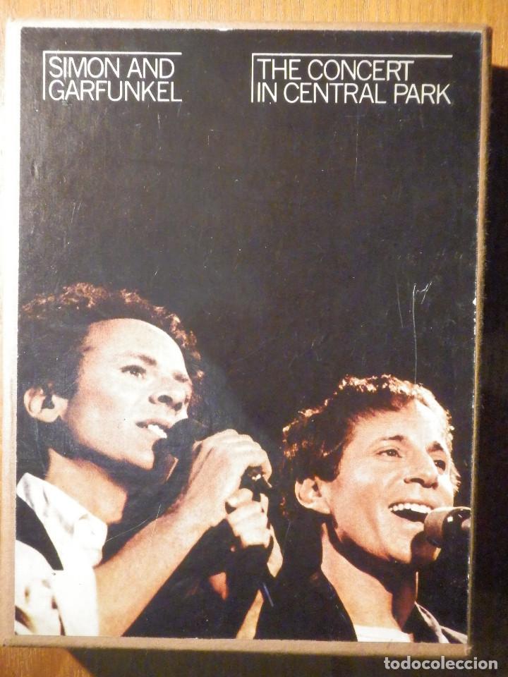 CINTA DE CASSETTE - DOBLE CASETE - SIMON & GARFUNKEL - THE CONCERT IN CENTRAL PARK 1982 EN ESTUCHE (Música - Casetes)