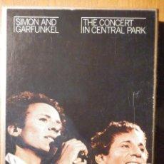 Casetes antiguos: CINTA DE CASSETTE - DOBLE CASETE - SIMON & GARFUNKEL - THE CONCERT IN CENTRAL PARK 1982 EN ESTUCHE. Lote 194907376