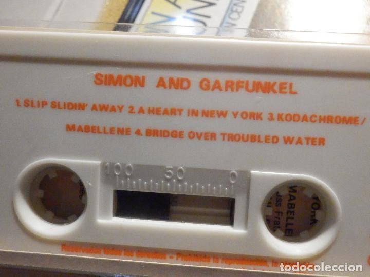 Casetes antiguos: Cinta de Cassette - Doble Casete - Simon & Garfunkel - The Concert in Central Park 1982 en estuche - Foto 5 - 194907376