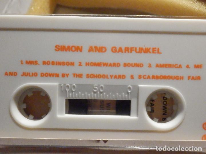 Casetes antiguos: Cinta de Cassette - Doble Casete - Simon & Garfunkel - The Concert in Central Park 1982 en estuche - Foto 8 - 194907376