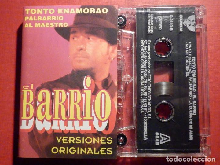 CINTA DE CASSETTE - CASETE - EL BARRIO - COLISEUM 2000 (Música - Casetes)