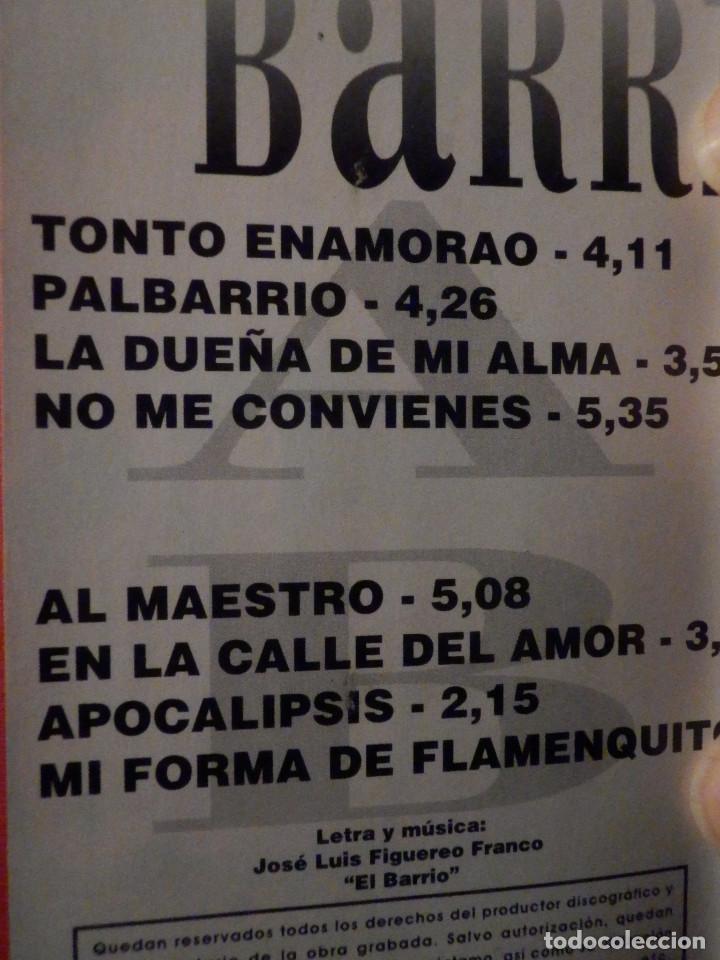 Casetes antiguos: Cinta de Cassette - Casete - El Barrio - Coliseum 2000 - Foto 2 - 194907378