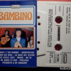Casetes antiguos: CINTA DE CASSETTE - CASETE - BAMBINO - CONTINENTAL 1977. Lote 194907382