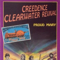 Casetes antiguos: CREEDENCE CLEARWATER REVIVAL PROUD MARY ON STAGE . Lote 194967555