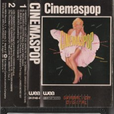 Casetes antiguos: CINEMASPOP (CASSETTE WEA 1983) . Lote 195039133