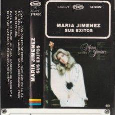 Casetes antiguos: MARIA JIMENEZ - SUS EXITOS (CASSETTE MOVIEPLAY 1980). Lote 195039885