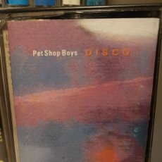Casetes antiguos: PET SHOP BOYS..DISCO..1986. Lote 195042832