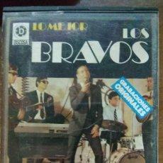 Casetes antiguos: LOS BRAVOS - LO MEJOR. Lote 195063317