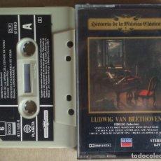 Casetes antiguos: LUDWIG VAN BEETHOVEN FIDELIO (SELECCIÓN) PLANETA/DECCA 1983 HISTORIA DE LA MUSICA CLASICA 6 . Lote 195081373