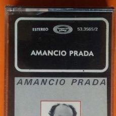 Casetes antiguos: AMANCIO PRADA CANCIONES Y SOLILOQUIOS MOVIEPLAY 1983 PRECINTADA. Lote 195083011