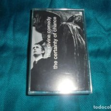 Casetes antiguos: THE DIVINE COMEDY. THE CERTAINTY OF CHANGE. SETANTA, 1998. EDC. UK. CASETE. IMPECABLE (#). Lote 195084190