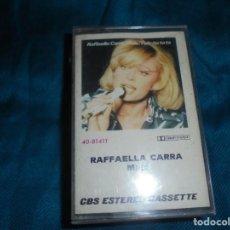 Casetes antiguos: RAFFAELLA CARRÁ. MALE. CBS, 1976 .SPAIN .CASETE (#). Lote 195084473