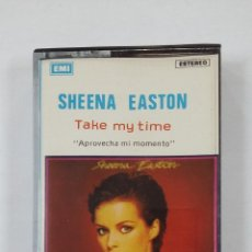 Casetes antiguos: SHEENA EASTON - TAKE MY TIME. CASETE. TDKV46. Lote 195125540