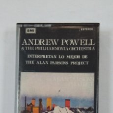 Casetes antiguos: ANDREW POWELL AND THE PHILHARMONIA ORCHESTRA INTERPRETAN LO MEJOR DE THE ALAN PARSONS PROJECT TDKV46. Lote 195126456