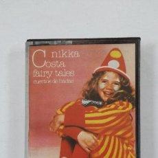 Casetes antiguos: NIKKA COSTA. - FAIRY TALES. CASETE. TDKV46. Lote 195150410